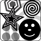 Baby Black & White Shapes icon