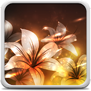 App Glowing Flowers Live Wallpaper APK for Windows Phone
