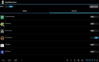 Screenshot of Easy Battery Saver Lite
