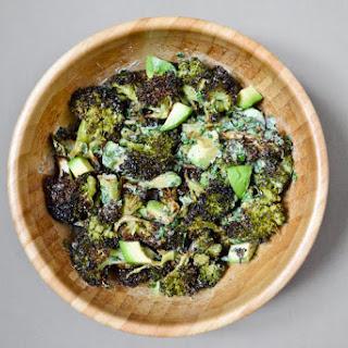 Charred Broccoli and Avocado Salad.
