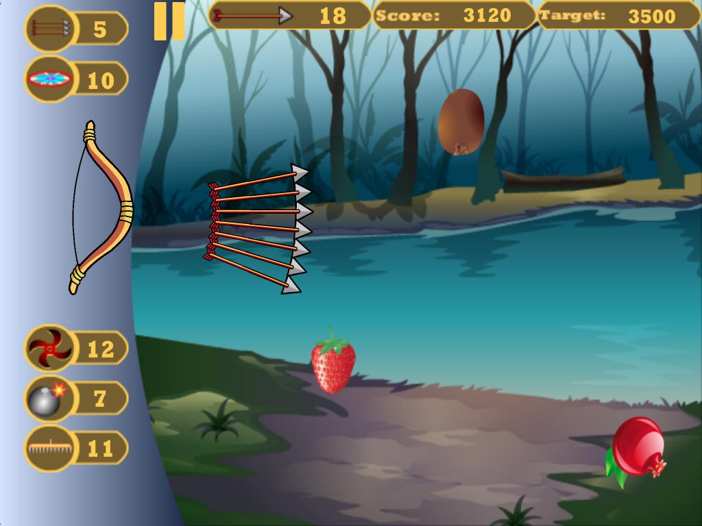 shoot fruit game