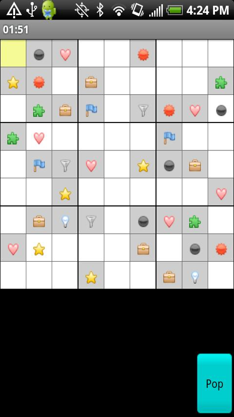 Sudoku Shapes - screenshot
