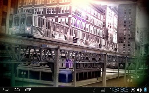【免費個人化App】Chicago 3D Free Live Wallpaper-APP點子