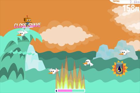 Robo Surf Free - screenshot