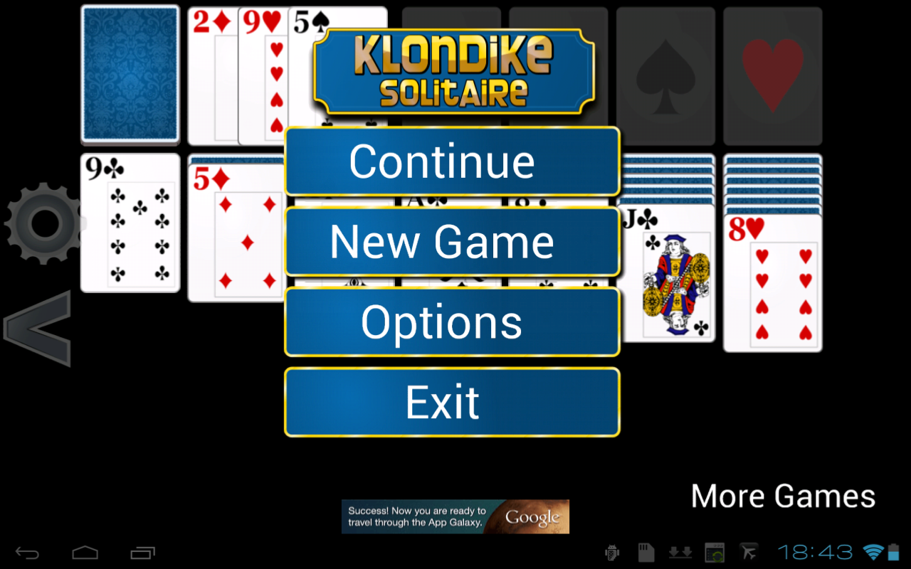 Klondike Solitaire HD - screenshot