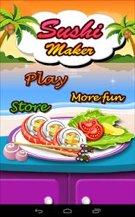 寿司制造商-烹饪比赛