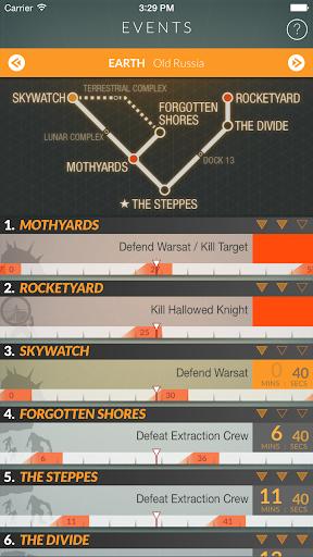 Destiny Public Events Tracker 3.3 screenshots 7