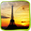 Eiffel Tower 3D icon