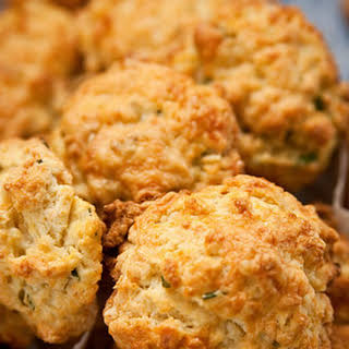Ham, Cheddar, and Chive Scones.
