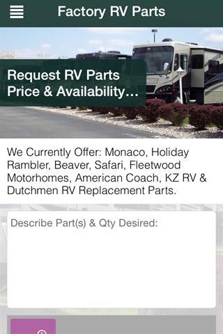 Find My RV Parts
