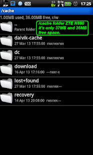 Cache Download to SD (root) - screenshot thumbnail