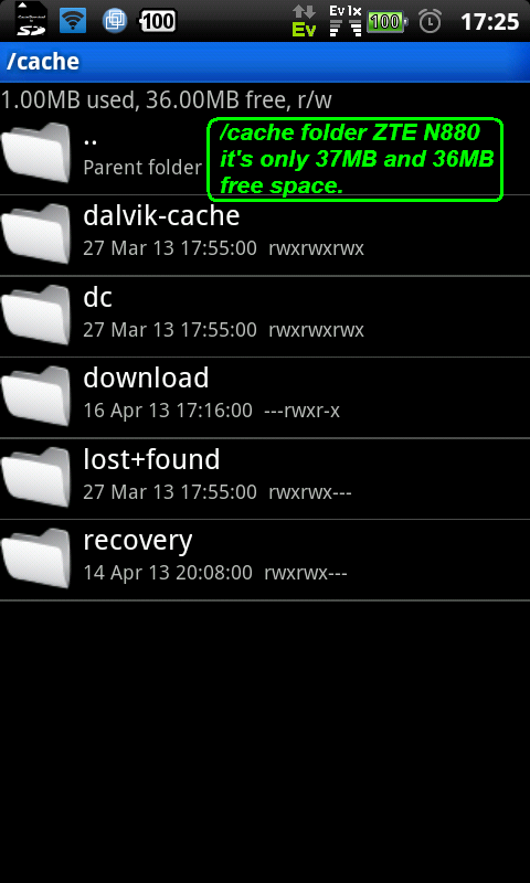 Cache Download to SD (root) - screenshot
