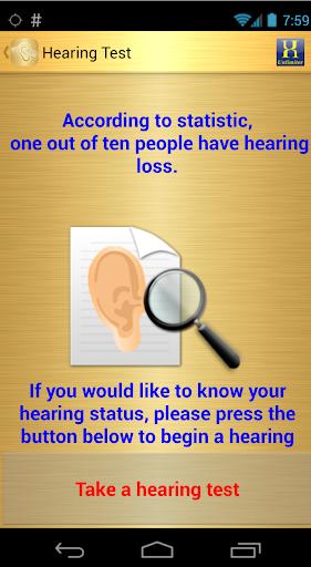 MFA Hearing Test 1.0 screenshots 2