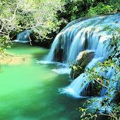 Natural WaterFall Photo