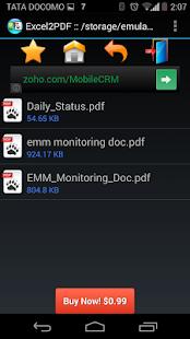 玩免費商業APP|下載Excel to PDF Converter Demo app不用錢|硬是要APP