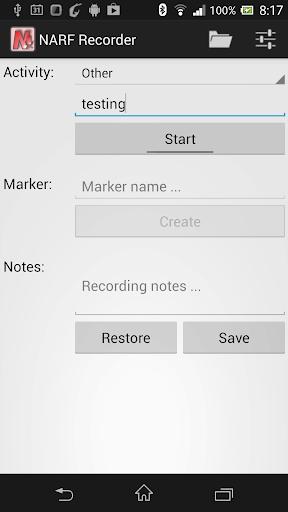 NARF Recorder