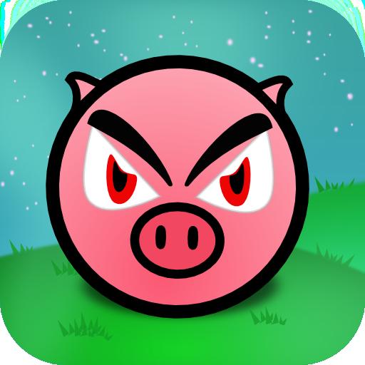 Pig Runner 動作 App LOGO-硬是要APP