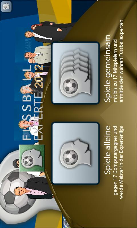 Fussball Experte 2012 - screenshot