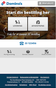 Domino's Pizza DK screenshot 0