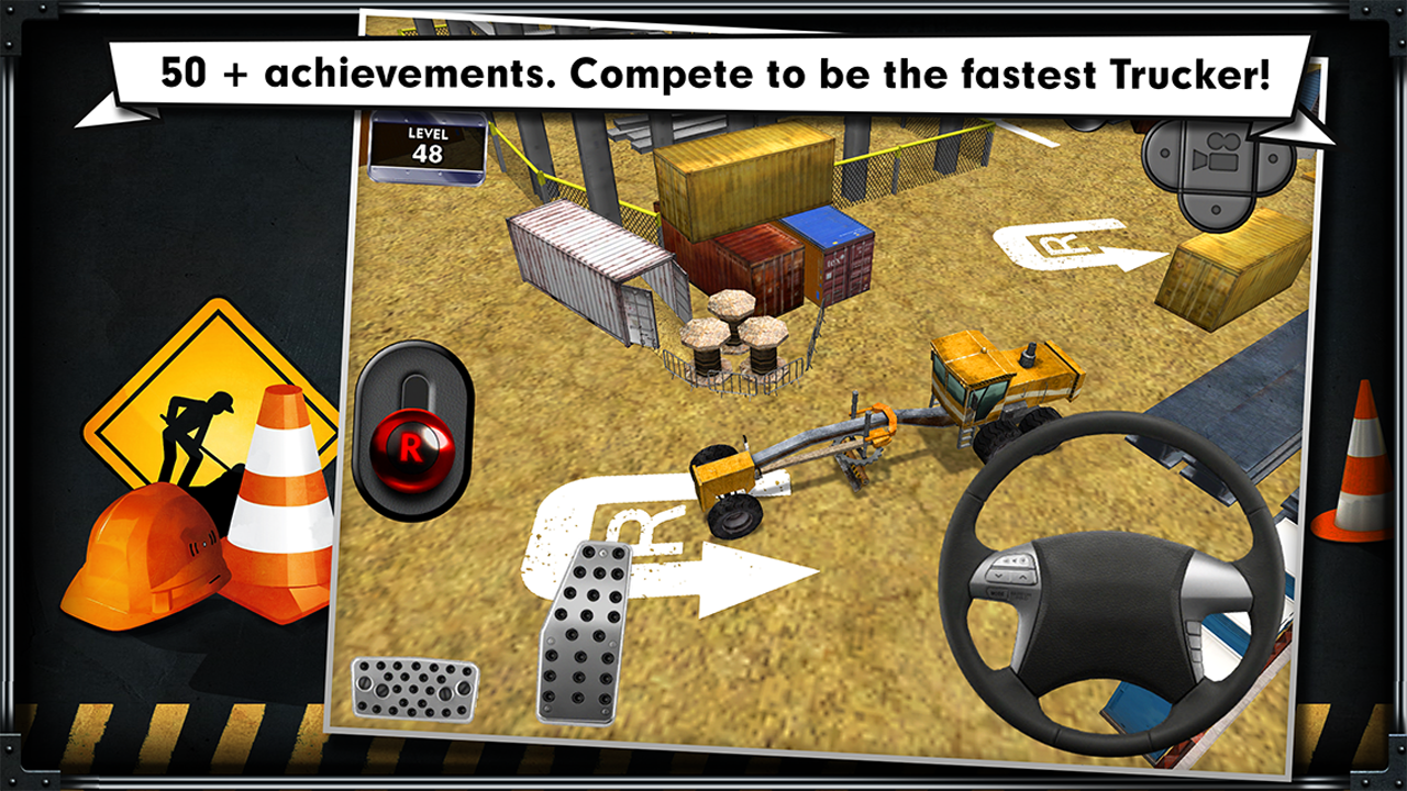 Trucker: Parking Simulator- screenshot