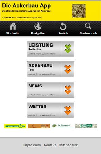 Die Ackerbau App