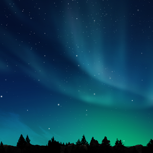 Aurora live wallpaper(Full HD) 個人化 App LOGO-硬是要APP