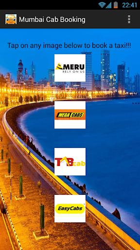 Mumbai Cab Booking App