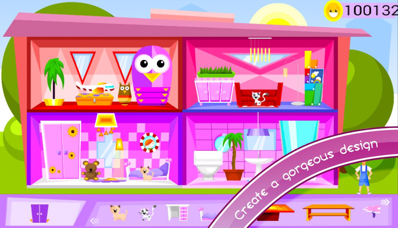 My Doll House Decorating Games - screenshot