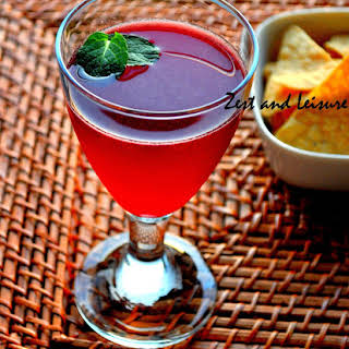Pomegranate Cocktail.