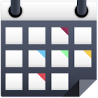calendario con colores icon
