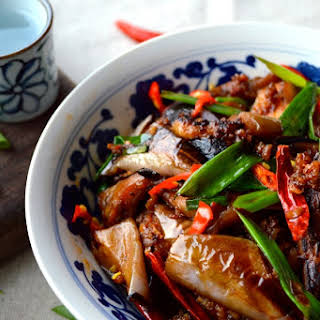 Chinese Eggplant with Garlic Sauce.