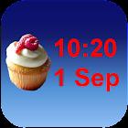 Cupcake Clock icon