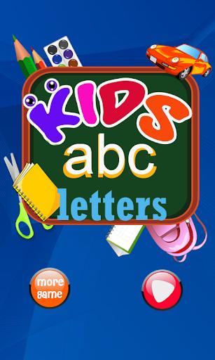 ABC學習的孩子