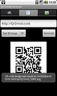 QR Droid Services™ - screenshot thumbnail
