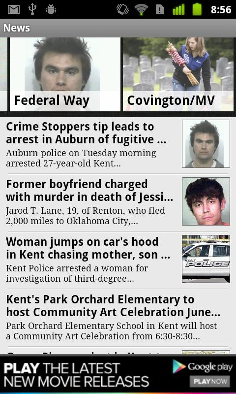 Kent Reporter - screenshot