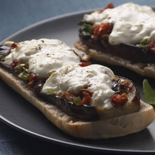 Mediterranean Panini With Goats' Cheese