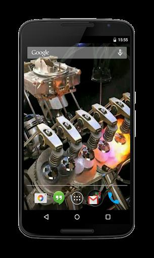 Engine 3D Live Wallpaper  screenshots 4