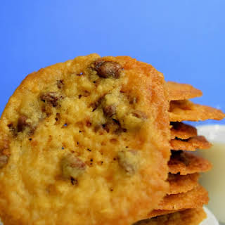 Crispy Chewy Chocolate Chip Cookies.