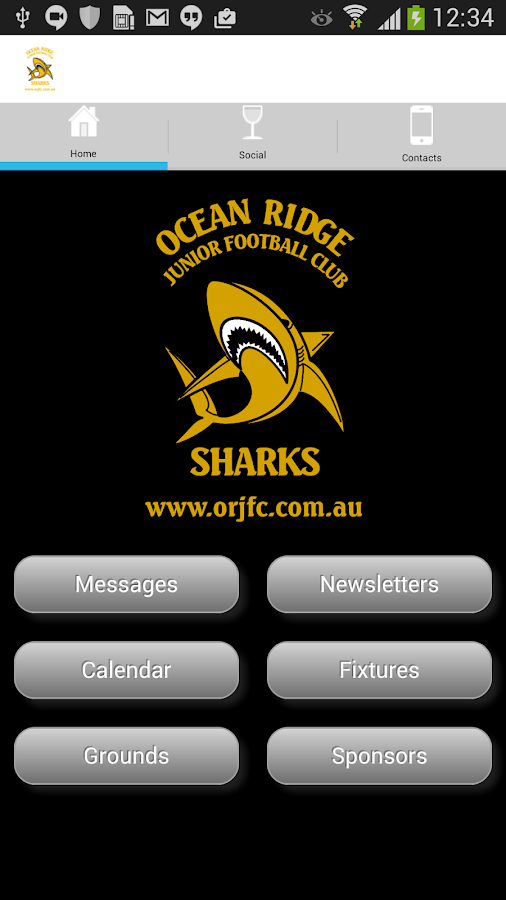 Ocean Ridge JFC- screenshot