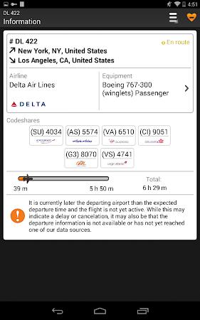 Airline Flight Status Tracking 1.7.5 screenshot 206400