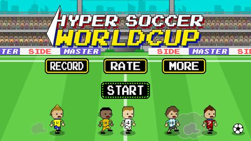 Hyper Soccer Worldcup-Juggling