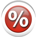 Percentage Calculator app icon