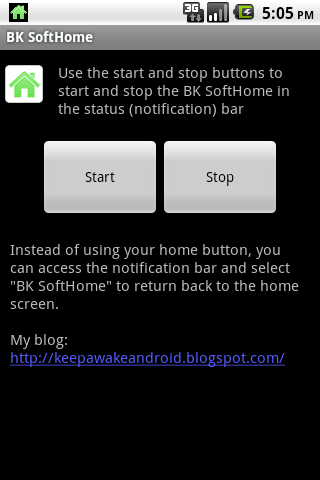 BK SoftHome- screenshot