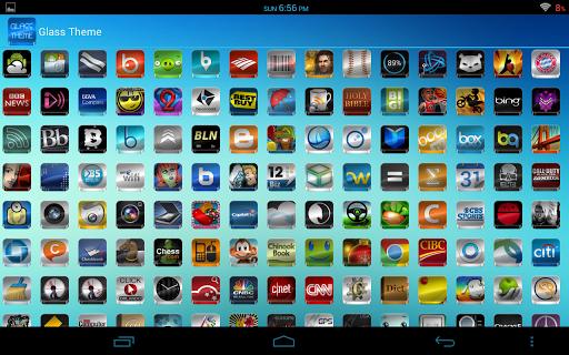 Glass - Icon Pack  screenshots 10