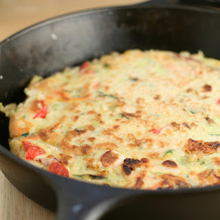 Pa Jeon/Pa Jun - Korean Pancake with Seafood and Vegetables