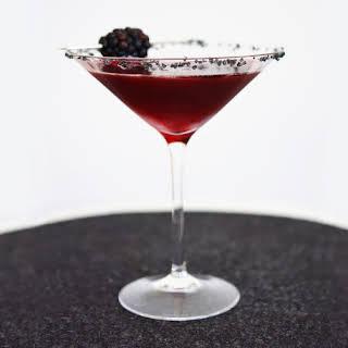 Black Widow Martini.