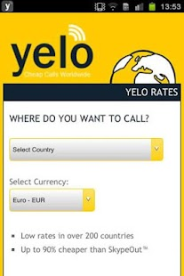 Yeloworld - Cheap Calls - screenshot thumbnail