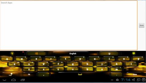 玩免費個人化APP|下載Black Yellow Keyboard app不用錢|硬是要APP