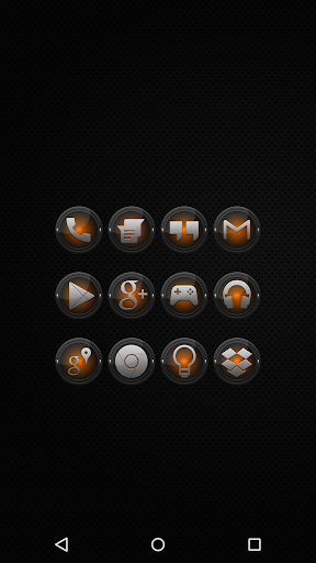 Black and Orange - Icon Pack
