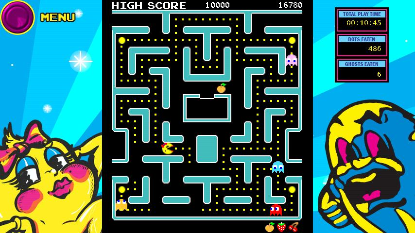 Ms. PAC-MAN for Xperia™ PLAY - screenshot